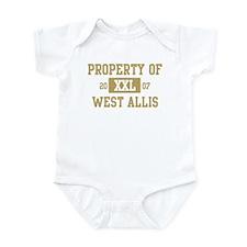 Property of West Allis Infant Bodysuit