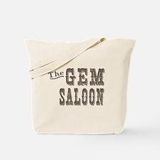 Deadwood Gem Saloon Tote Bag