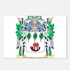Bernath Coat of Arms - Fa Postcards (Package of 8)