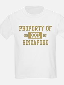 Property of Singapore T-Shirt