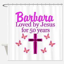 50 YR OLD PRAYER Shower Curtain