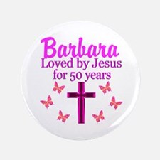 50 YR OLD PRAYER Button