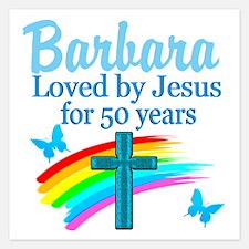 50 YR OLD PRAYER Invitations