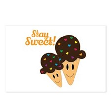 Stay Sweet Postcards (Package of 8)