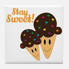 Stay Sweet Tile Coaster
