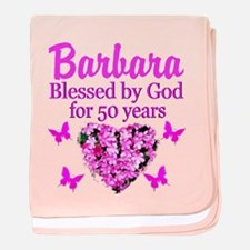 50 YR OLD PRAYER baby blanket