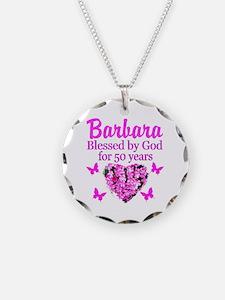 50 YR OLD PRAYER Necklace Circle Charm