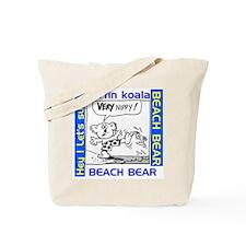 BeachBearz Tote Bag