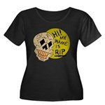 Halloween Humor My Name Is RIP (Rest in Peace) Plu