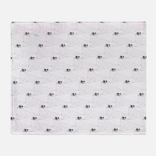 Baby Harp Seal Pattern Throw Blanket