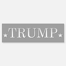 Trump For President Bumper Car Car Sticker