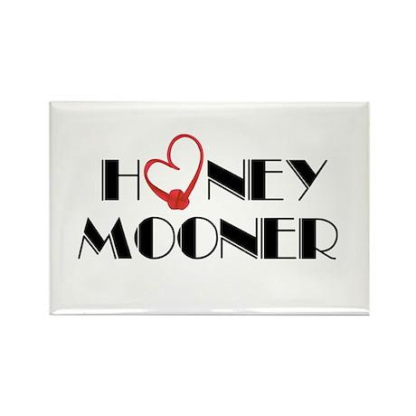 Honeymooner Rectangle Magnet