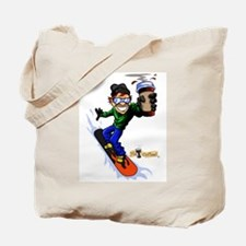 Hot Coffee! Snowboard Tote Bag