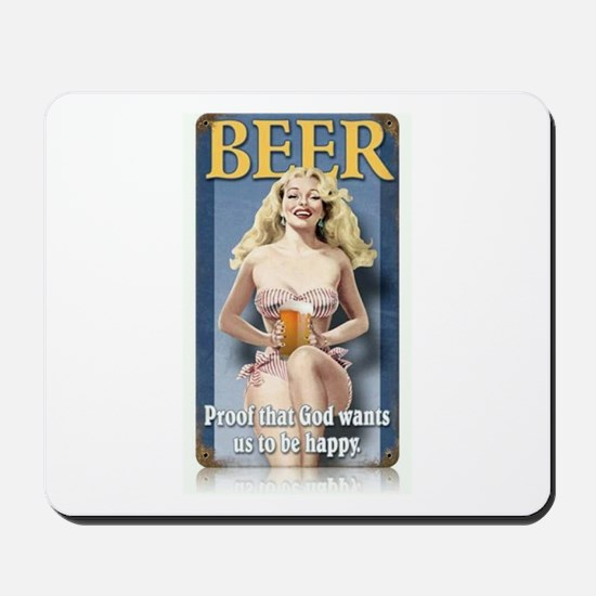BEERLOVE Mousepad