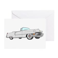Classic Cadillac Greeting Cards (Pk of 20)