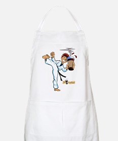 Hot Coffee! Karate BBQ Apron