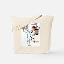 Hot Coffee! Karate Tote Bag