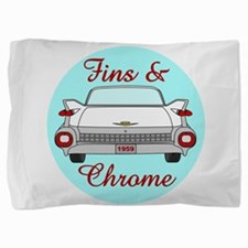 1959 Tailfins and Chrome Pillow Sham