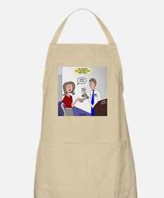 Airplane Ticket Issue Apron