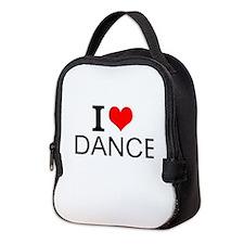 I Love Dance Neoprene Lunch Bag