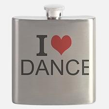 I Love Dance Flask
