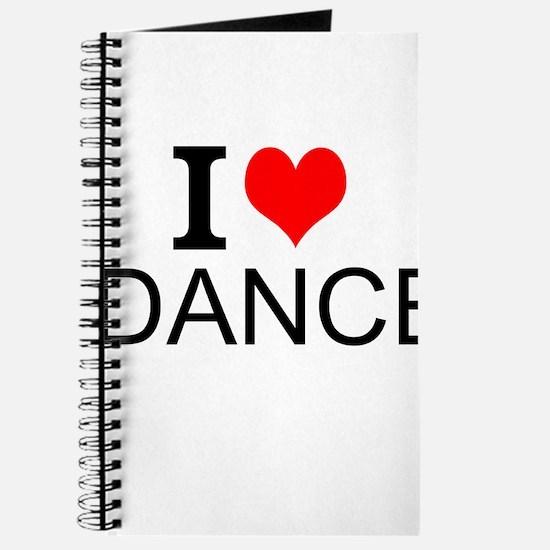 I Love Dance Journal