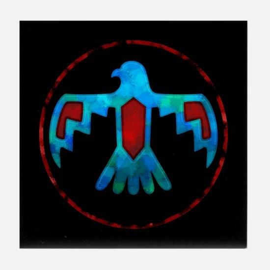 Thunderbird Tile Coaster