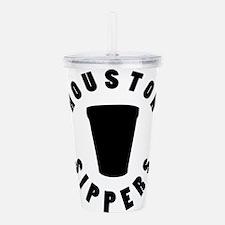 HOUSTON SIPPERS Acrylic Double-wall Tumbler