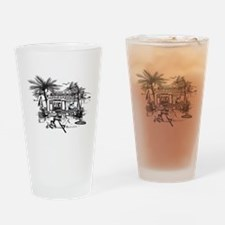Baja Eds Taco Shop Drinking Glass