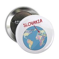 Slovakia Globe Button
