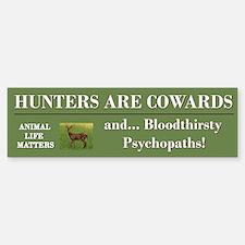 Anti-Hunters Bumper Bumper Bumper Sticker
