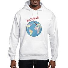 Slovakia Globe Hoodie