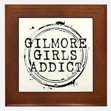 Gilmore Girls Addict Framed Tile