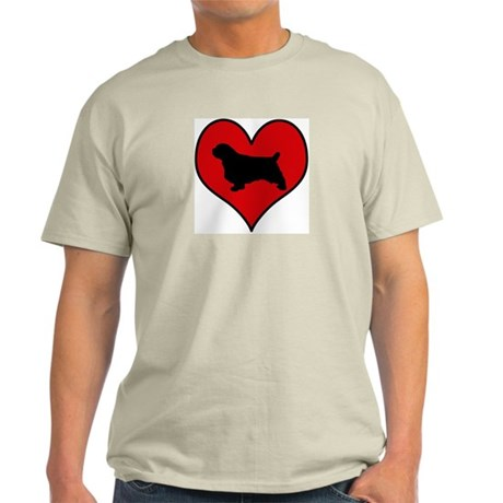 Clumber Spaniel heart Light T-Shirt