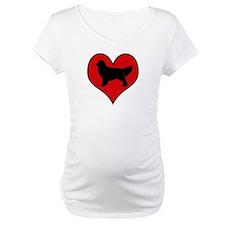 Golden Retriever heart Shirt