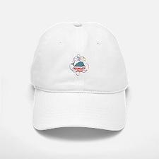 Whales Rule Baseball Baseball Cap