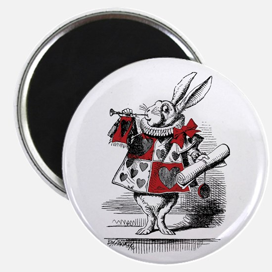 The White Rabbit Magnet