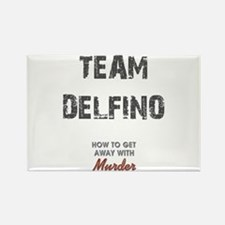 TEAM DELFINO Rectangle Magnet