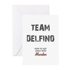 TEAM DELFINO Greeting Cards (Pk of 20)