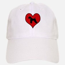 Kerry Blue Terrier heart Baseball Baseball Cap
