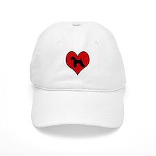 Kerry Blue Terrier heart Cap