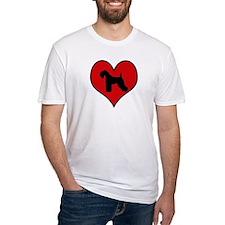 Kerry Blue Terrier heart Shirt