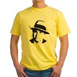 Al capone Mens Yellow T-shirts