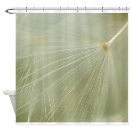 soft dandelion shower curtain by leviathanphoto
