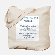 Public Health Nurse Tote Bag