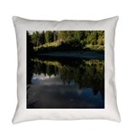 Eel River Reflection Scene Everyday Pillow
