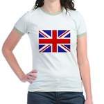 British Flag Jr. Ringer T-Shirt