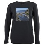 Shelter Cove Beach Plus Size Long Sleeve Tee