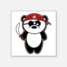 Pirate Panda! Sticker