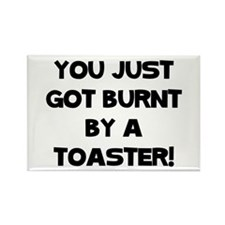 Funny Toaster Rectangle Magnet